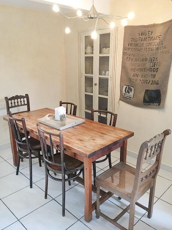 Gîte - Cuisine 2 - La Bastide des Songes - Chambres d'hôtes Luberon - Vaucluse