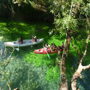 Canoe - bed and breakfast - luberon - vaucluse - la bastide des dreamses