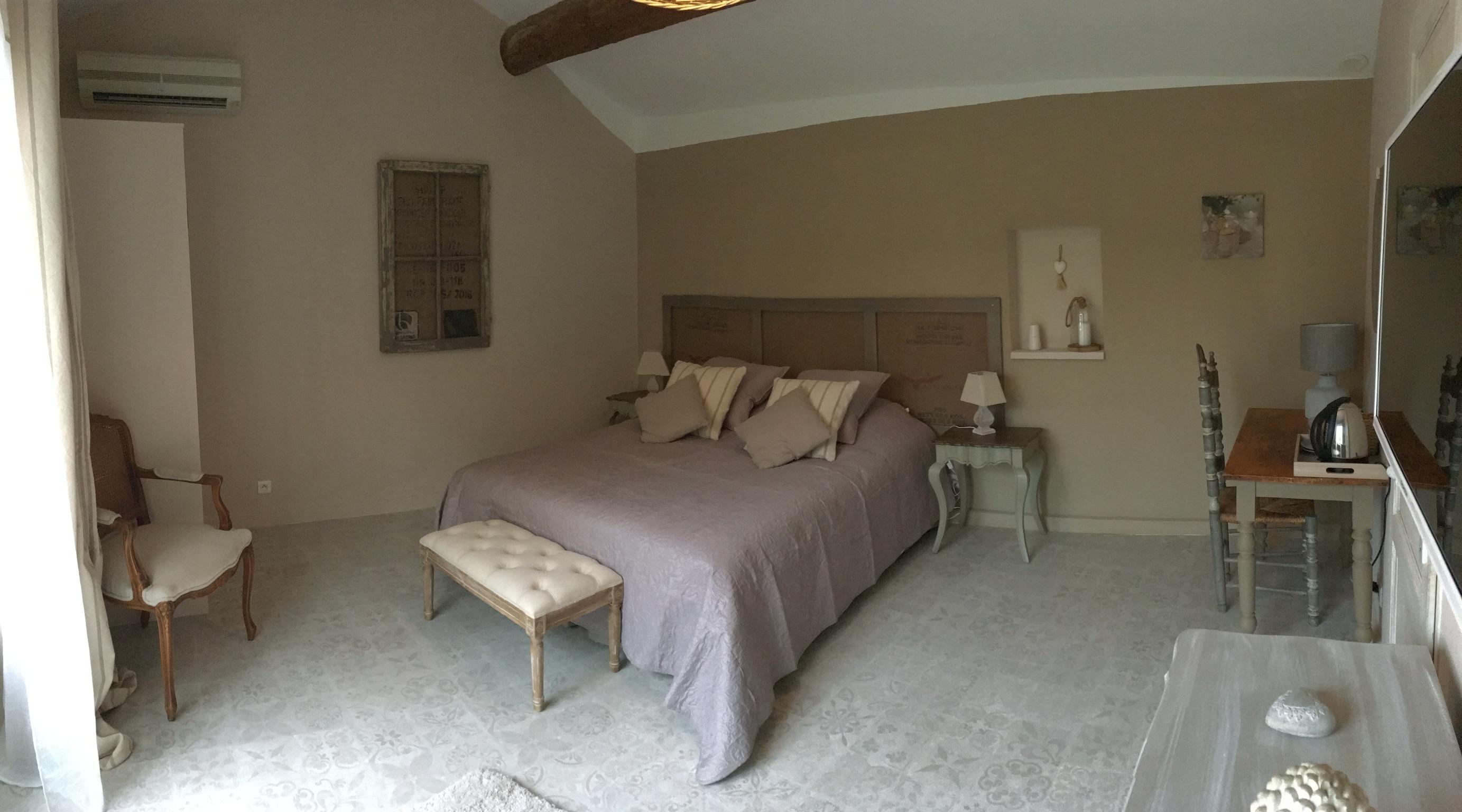 Chambre Toile de Jute 1 - La Bastide des Songes - Chambres d'hôtes Luberon - Vaucluse