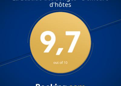 la bastide des songes - chambres d'hotes - provence - luberon - vaucluse - avignon - cavaillon - spa - bien etre - review award - booking