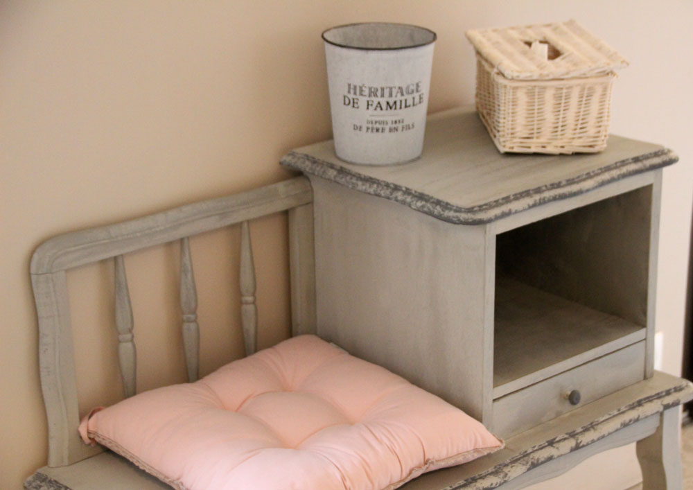 la bastide des songes - bed and breakfast - provence - luberon - robion - balneo lace suite - detail