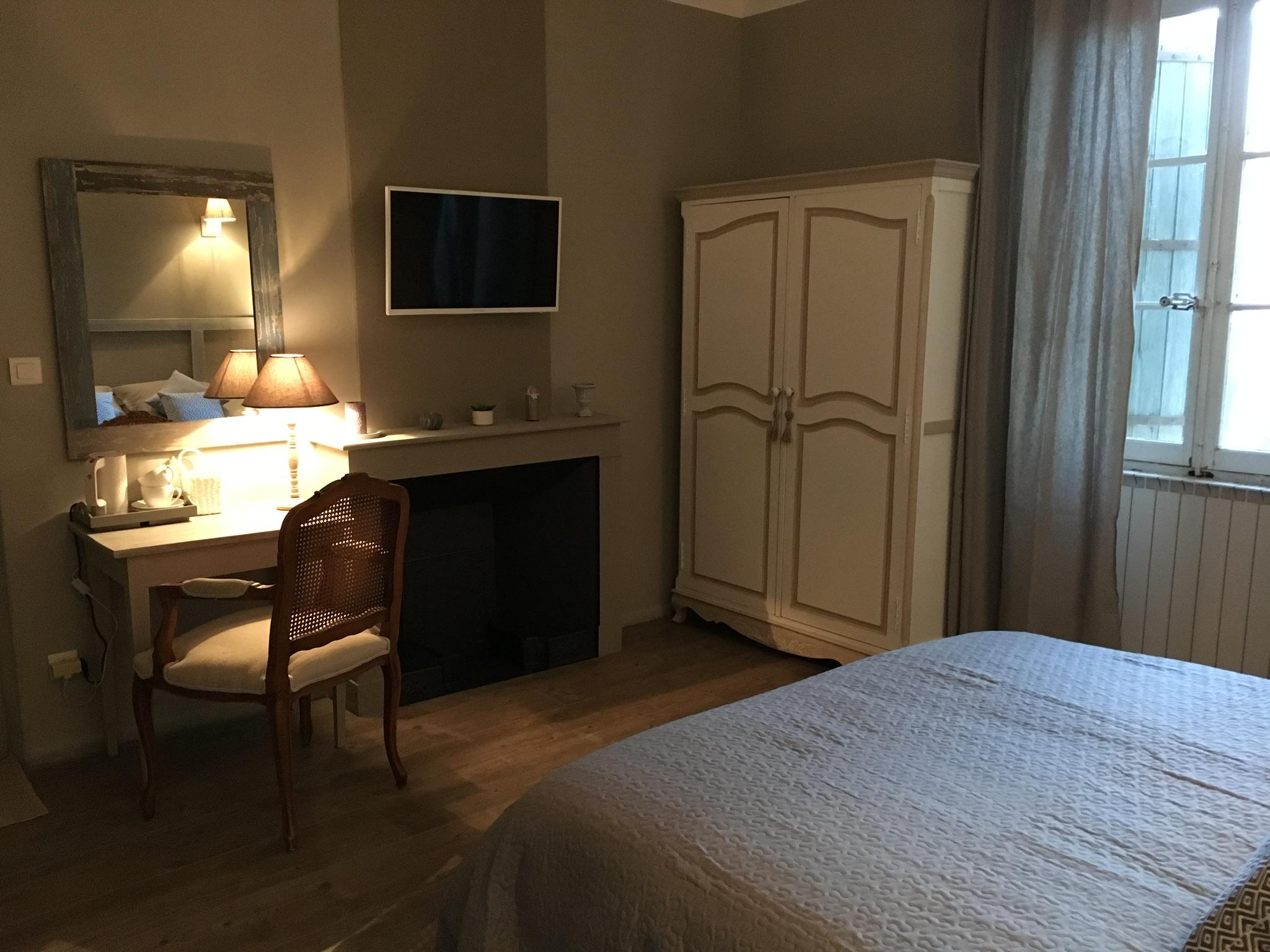 Chambre Voile de Lin 4 - La Bastide des Songes - Chambres d'hôtes Luberon - Vaucluse