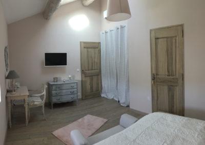 Suite fil de soie - chambre parentale 3 - La Bastide des Songes - Chambres d hotes Luberon - Vaucluse - Robion - Gordes - Cavaillon