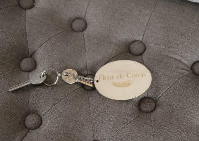 la bastide des songes - chambres d hotes - provence - luberon - robion - fleur de coton - clé