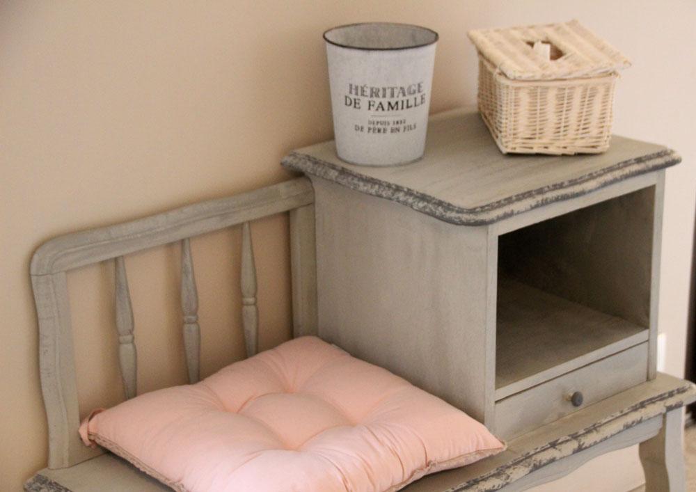 la bastide des songes - chambres d hotes - provence - luberon - robion - suite balneo dentelle - detail