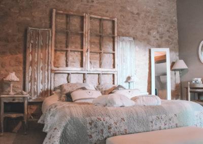 la bastide des songes - chambre hotes - luberon - provence - gordes - roussillon - isle sur sorgue - chambre - fleur de coton - 1