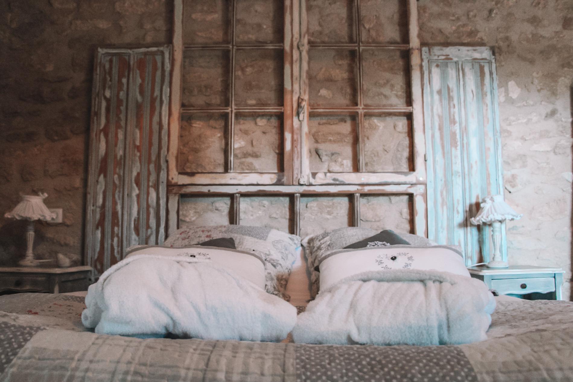 la bastide des songes - chambre hotes - luberon - provence - gordes - roussillon - isle sur sorgue - chambre - fleur de coton - 5